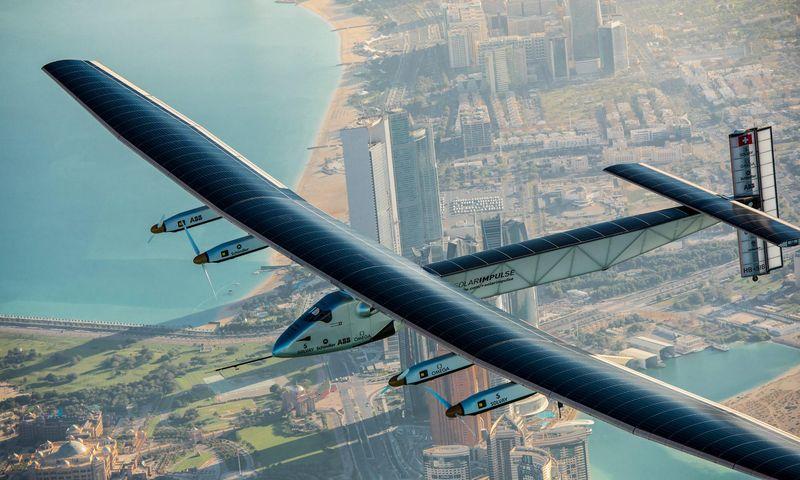 Самолёты на солнечной энергии