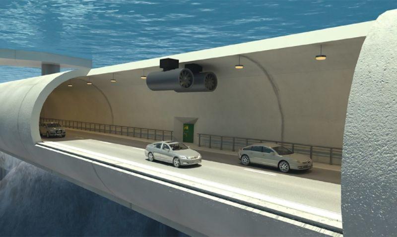 Подводные транспортные туннели