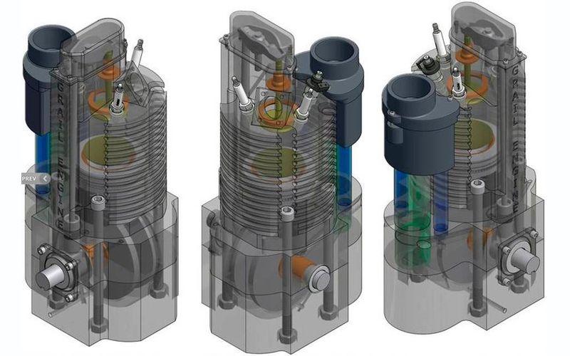 Двухтактный двигатель от Grail Engine Technologies