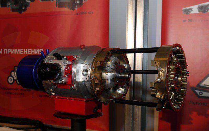 Двухтактный двигатель Iris