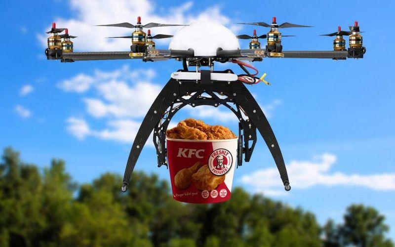 Доставка товаров с помощью дронов