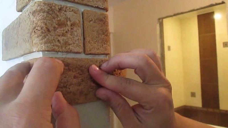 Гибкий камень для стен