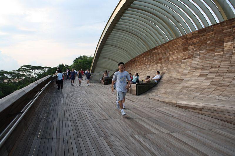 Отделка моста