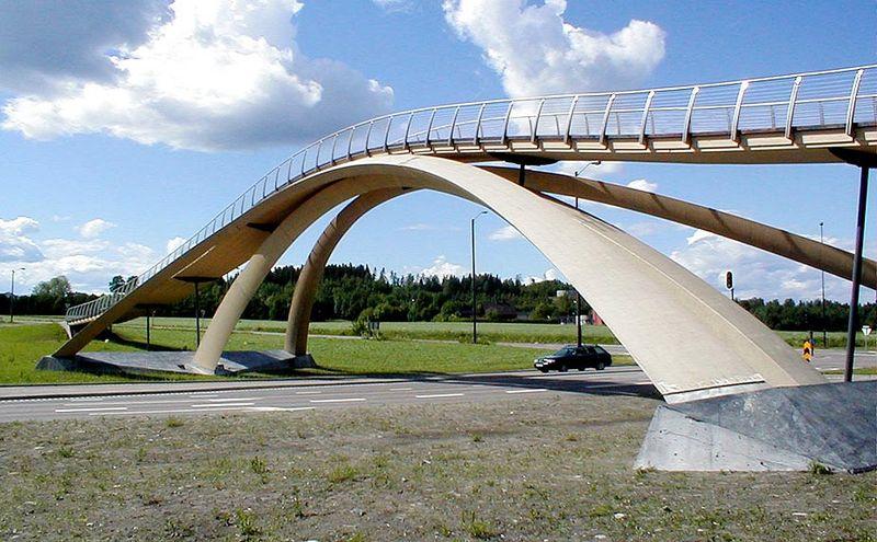Мост Леонардо да Винчи в Осло