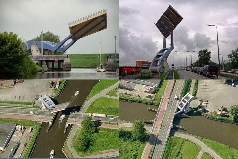 Летающий мост в Леувардене