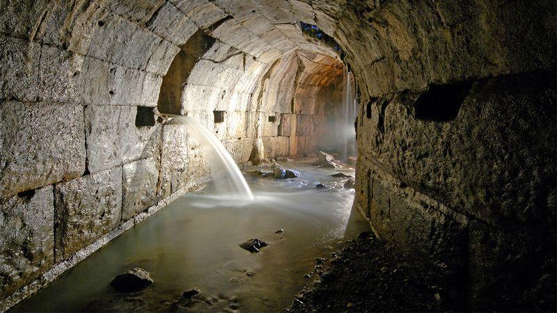 Древнеримская канализация