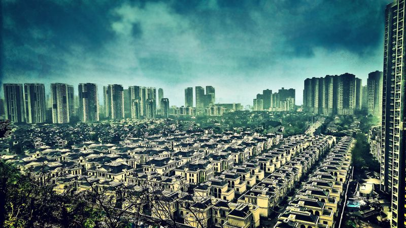 Мегаполис Чунцин