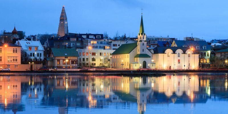 Столица Исландии Рейкьявик