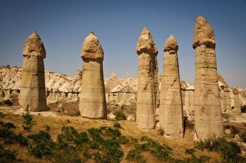 Каменные грибы Каппадокии