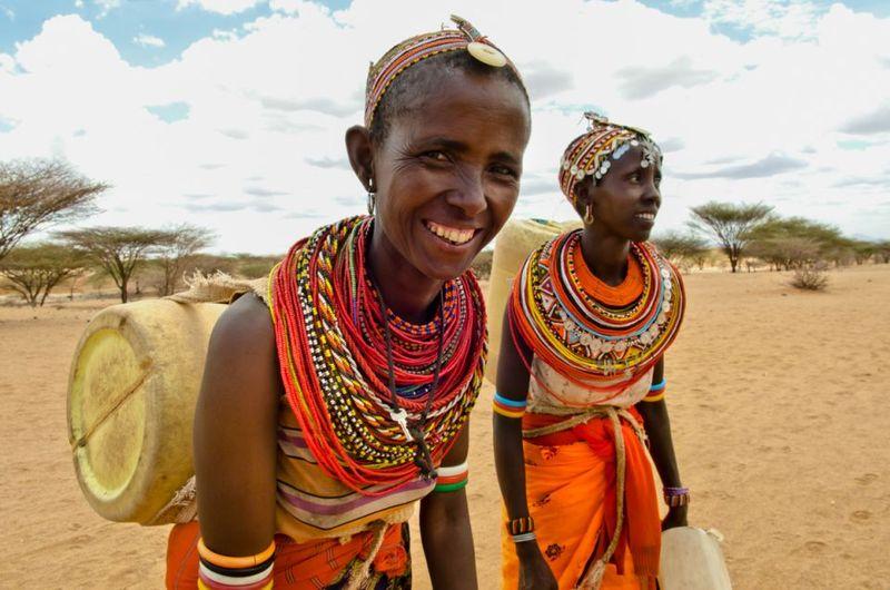 Женщины племени Динка