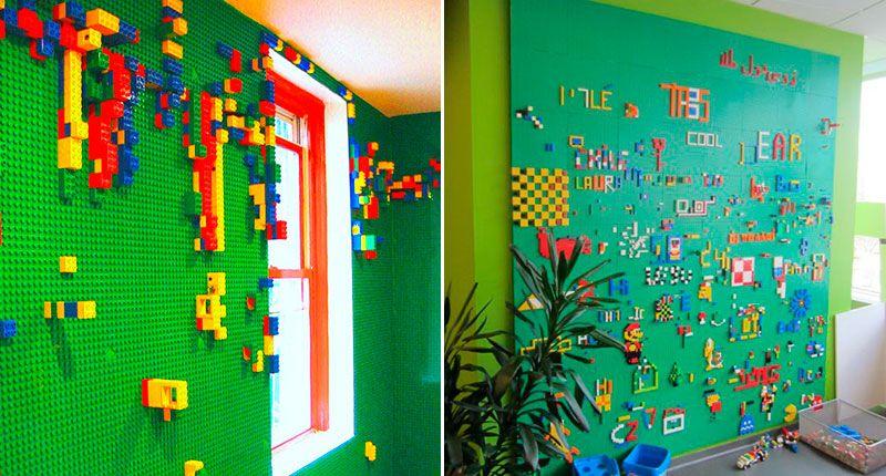 Комната в стиле Лего