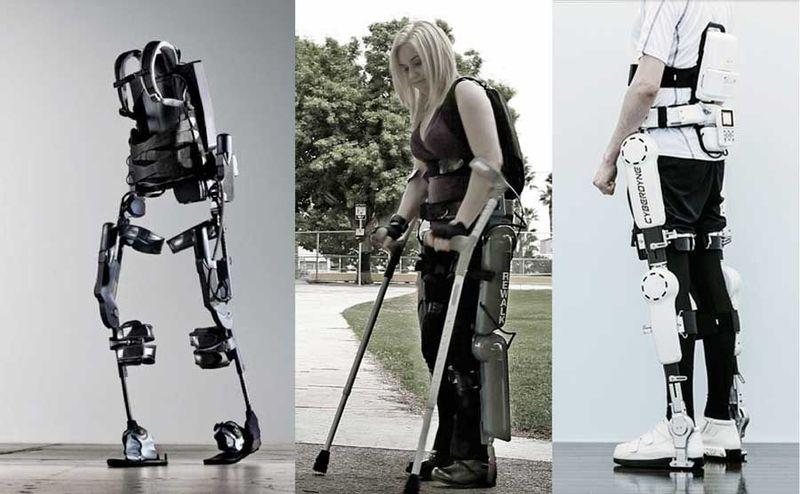 Экзоскелет Cyberdyne