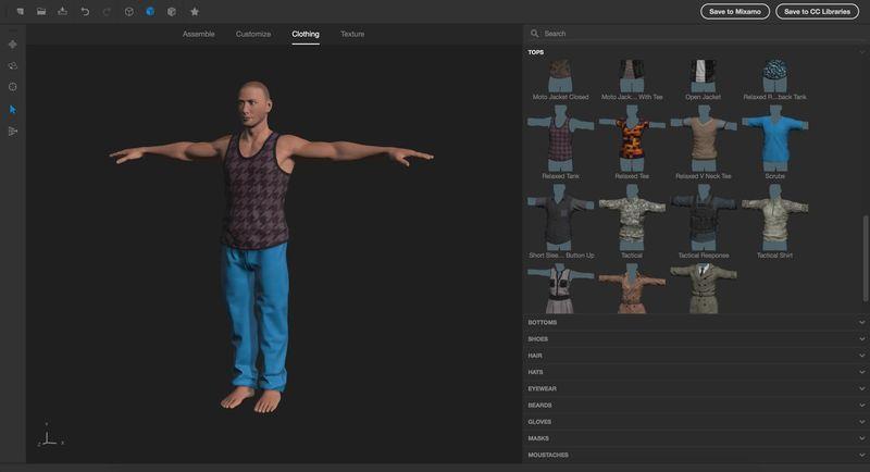 3D моделирование одежды