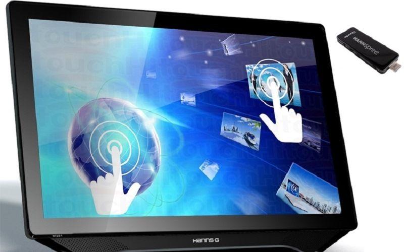 Сенсорные экраны и компьютеры