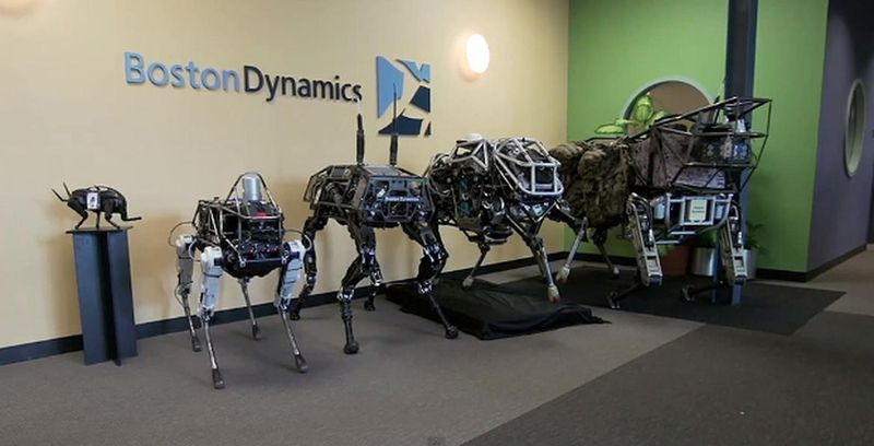 Роботы Agile