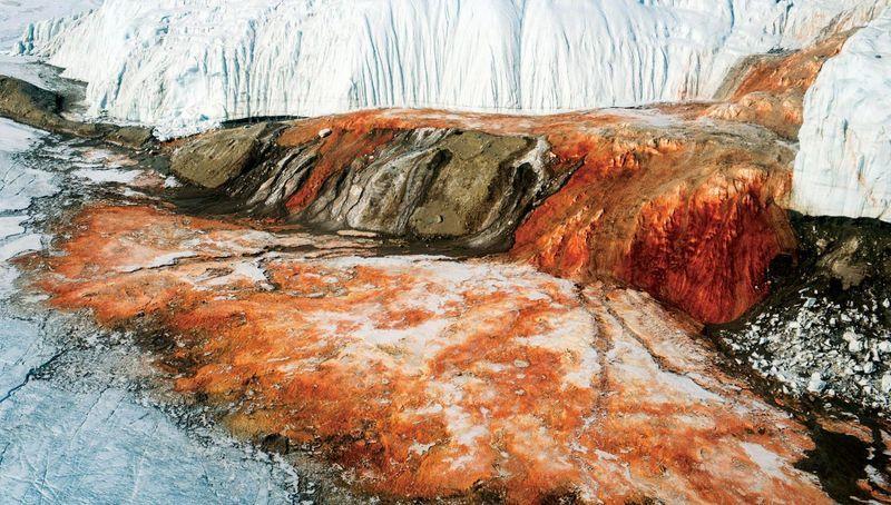 Кровавый водопад. Антарктида
