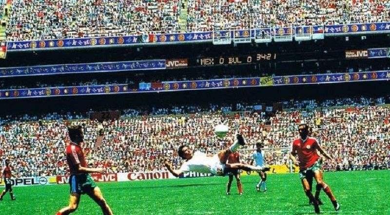 Мексиканский футболист Мануэль Негрете