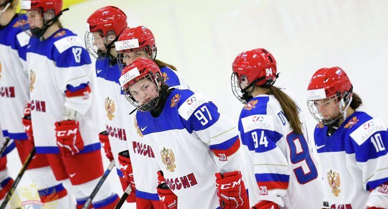 Женская олимпийская команда по хоккею на льду