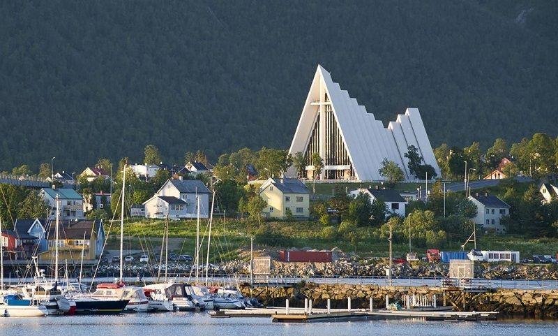 Арктический собор. Норвегия, Тромс