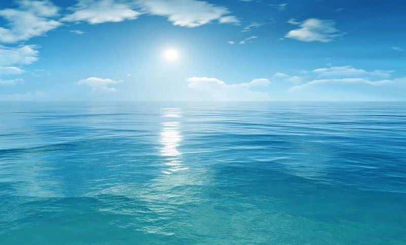 Фото глади океана