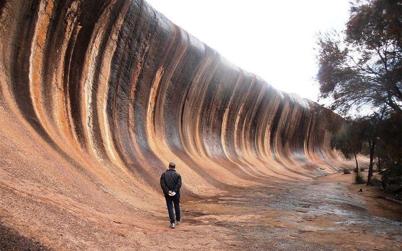 Австралийская гора Каменная волна