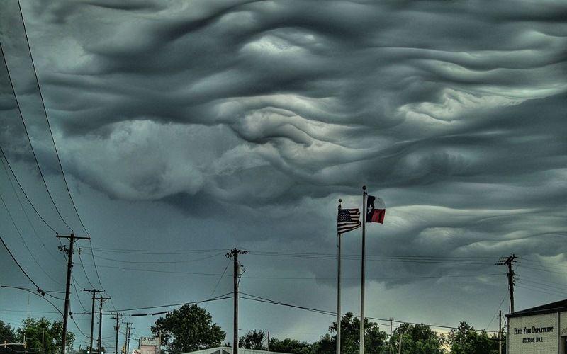 Облака – гигантские волны
