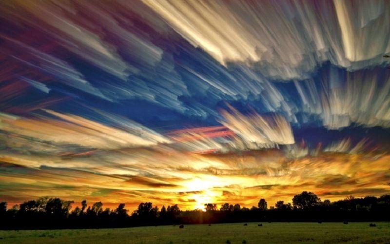 Сюрреалистическая картина неба