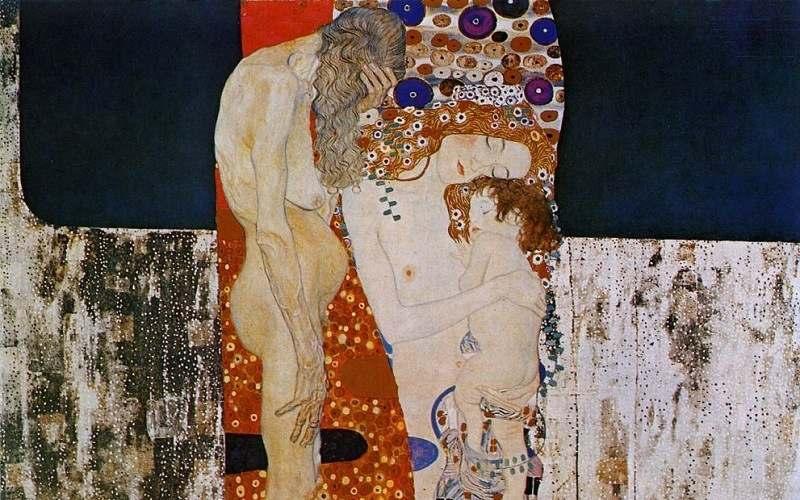 Удивительные картины Густав Климт