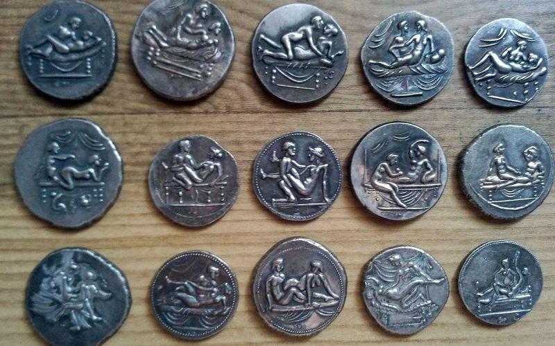 Спинтрии – монеты Древнего Рима