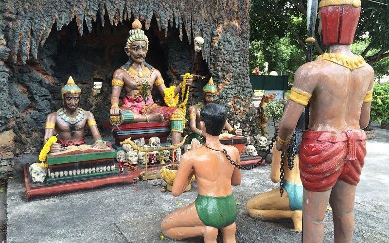 Парк грешников в Тайланде