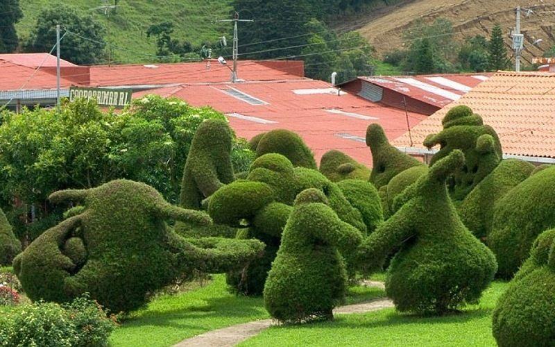 Парк Франциско Альварадо в Коста-Рике