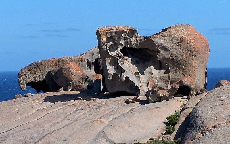 Парк Флиндерс Чейз, Замечательные скалы