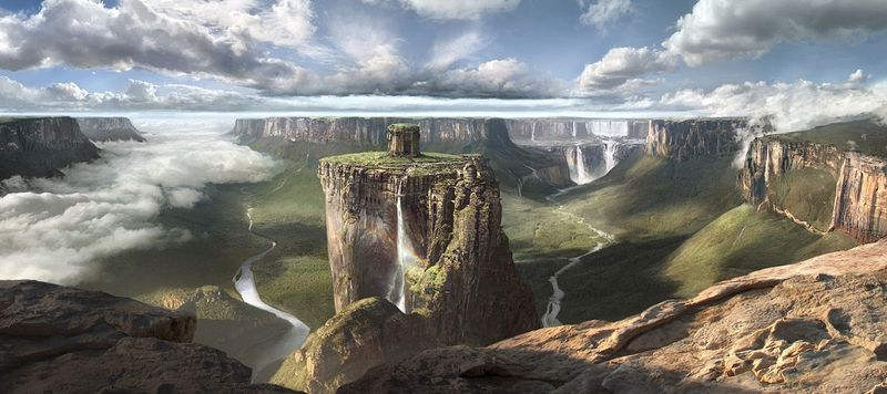 Тепуи - столовые горы