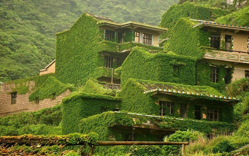 Заброшенная китайская деревня