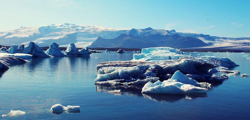 Ледяное озеро Йокульсарлон