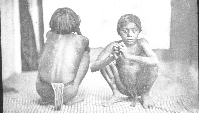Ребенок из племени Уаяна