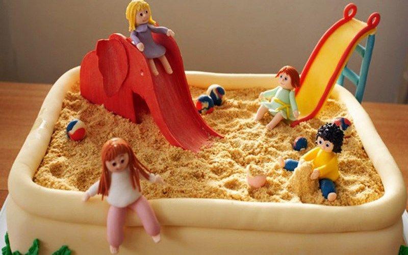 Торт «Детская площадка»