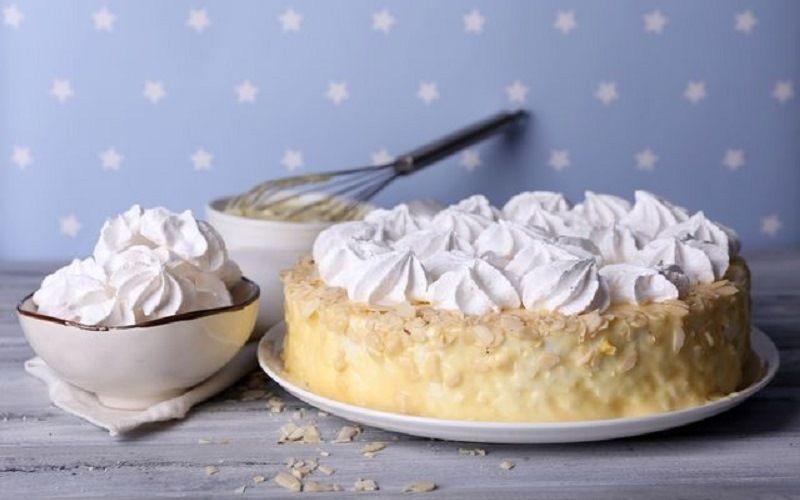 Безе для украшения торта