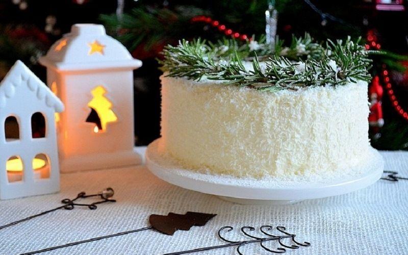 Кокосовая стружка, крем для украшения тортов