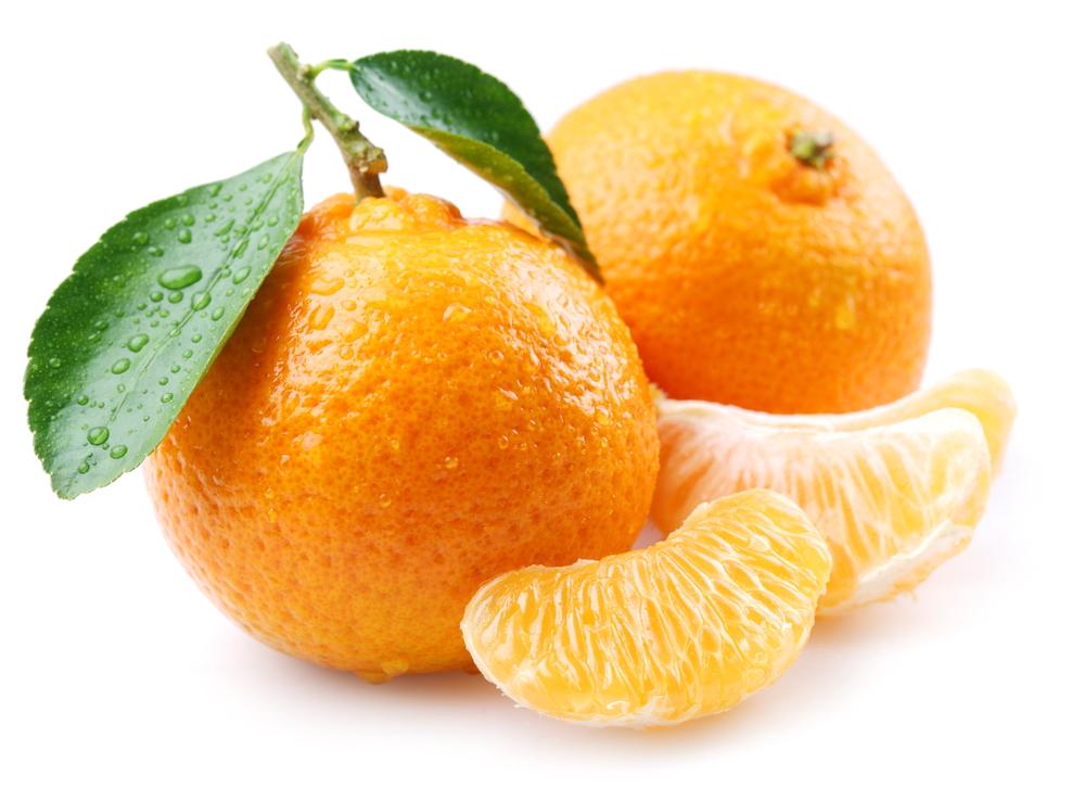 оранжевый мандарин