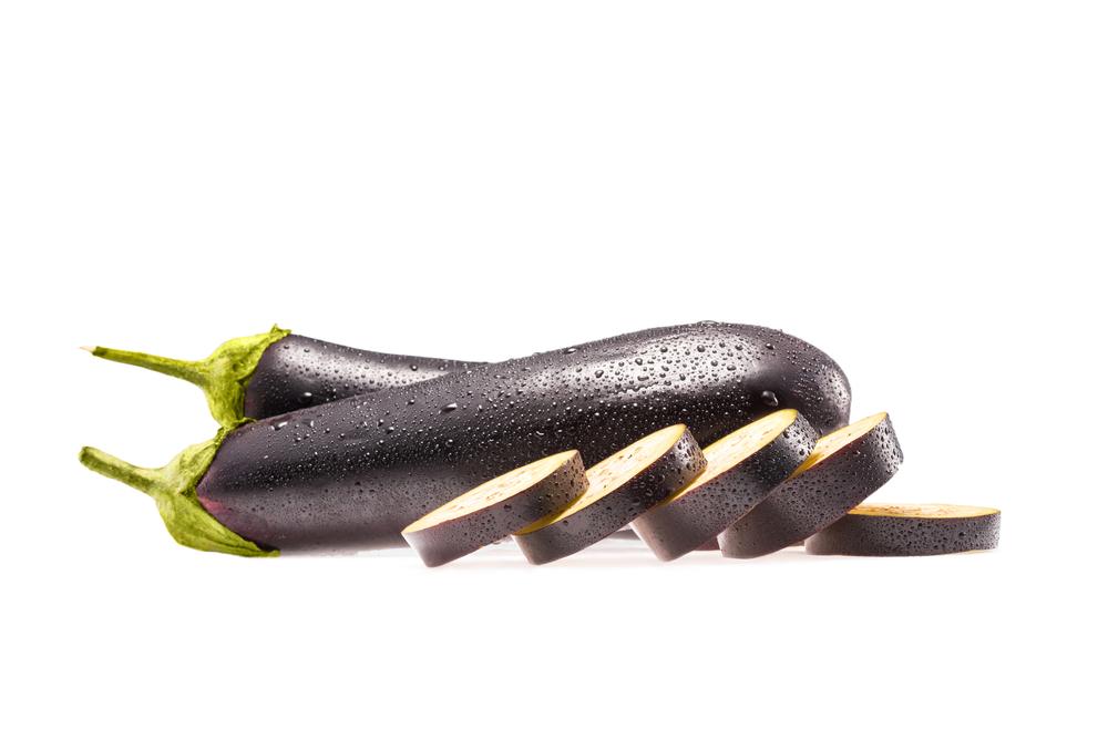 фиолетовый баклажан