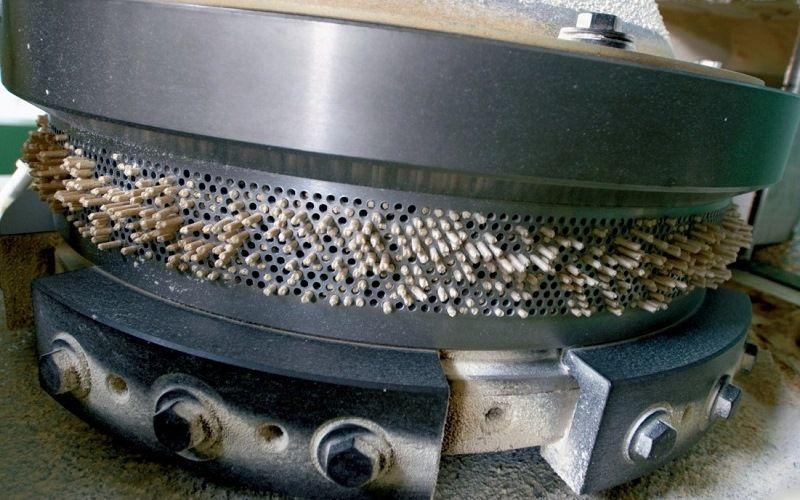 Промышленное производство пеллет из опилок