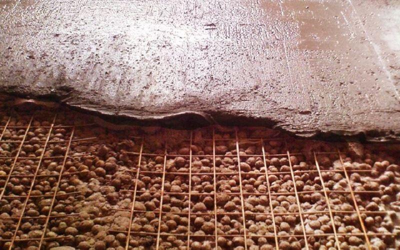 Керамзито-бетонный раствор