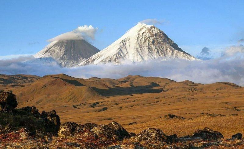 Удивительные вулканы Камчатки