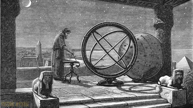 Древнегреческий картограф Эратосфен Киренский