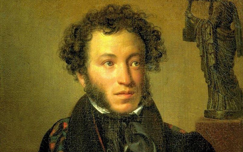 Русский поэт А.С.Пушкин