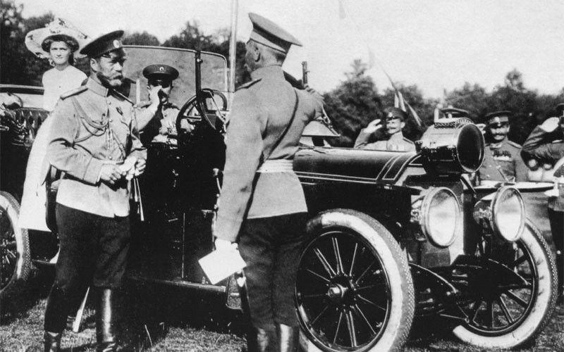 Автомобиль царя Николая II