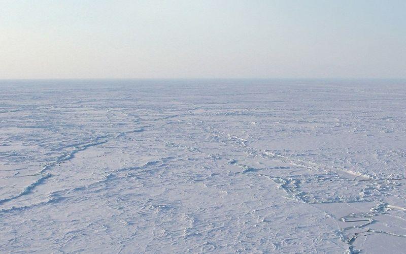 Антарктические снежные дюны