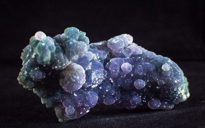 Минералы с кристаллической структурой
