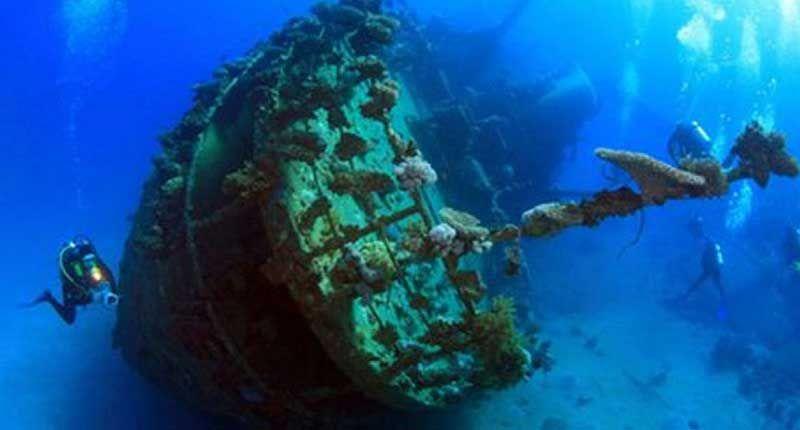 Византийский корабль. Близ Фороса